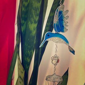 Hummingbird/ Butterfly wind chimes NWT 🌱🌿🧡